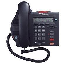 Nortel Meridian M3902 Basic Phone - Refurbished - Black