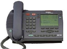 Meridian Nortel I2004 IP Phone (NTDU82) Remanufactured - Charcoal