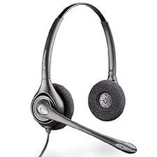 Plantronics D261N Supraplus Digital Binaural Noise Cancelling Headset