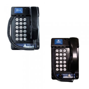 Gai-Tronics Auteldac 5 ATEX Approved Telephone - Curly Cord