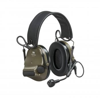 3M™ Peltor™ ComTac VI NIB Headset Green - MI Input