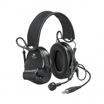 3M™ Peltor™ ComTac VI NIB Headset Black - MI input, Peltor Wired