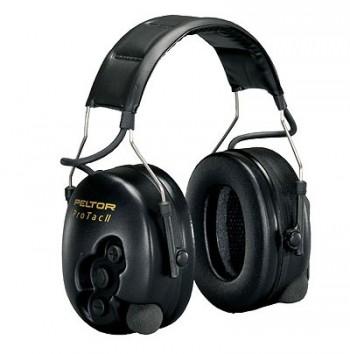 Peltor ProTac II Active Listening Hearing Protector Headband - Black