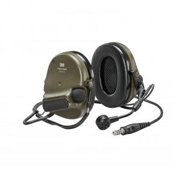 3M™ Peltor™ ComTac VI NIB Neckband Green - MI input, Nato Wired