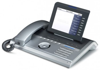 Siemens OpenStage 80 SIP System Telephone - Silver Blue