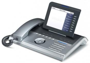 Siemens OpenStage 80 HFA System Telephone - Silver Blue