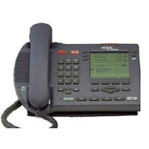 Meridian Nortel I2004 IP Phone (NTDU82) Remanufactured - Charcoal
