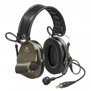 3M™ Peltor™ ComTac VI NIB Headset Green - MI input, Peltor Wired