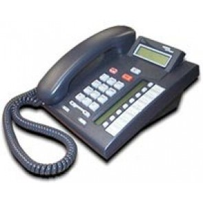 Nortel Meridian Norstar T7208 System Phone - Refurbished - Charcoal
