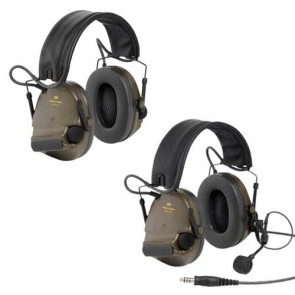 Peltor Comtac XPI Folding Headband Headset - Military Green