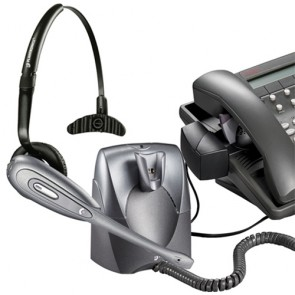 Plantronics CS60 DECT Cordless Headset and Handset lifter - Refurbished