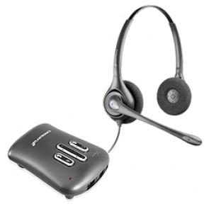 Plantronics DW261N Supraplus Digital Binaural Noise Cancelling Headset
