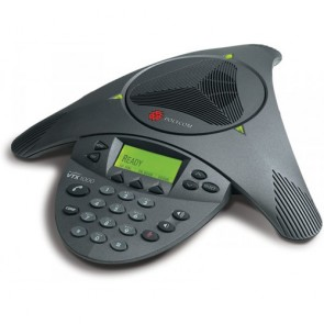 Polycom SoundStation VTX 1000 Wide Band audio conference phone