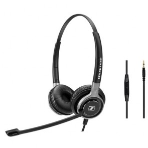 Sennheiser Century SC 665 3.5mm Mobile Headset Binaural 3.5mm Mobile Headset