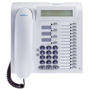 Siemens optiPoint 500 Advance Phone - Refurbished - White