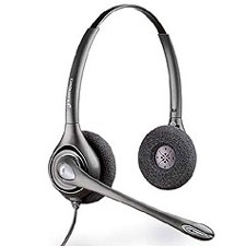 Plantronics D261N Supraplus Digital Binaural Noise Cancelling Headset
