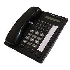 Panasonic KXT7730 E Display phone - Black