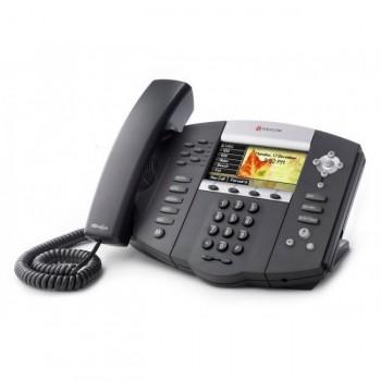 Polycom SoundPoint IP 670 HD VoIP Gigabit Ethernet Phone (Colour)