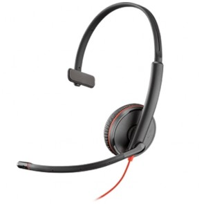 Plantronics Blackwire C3215 USB / 3.5mm Monaural Headset