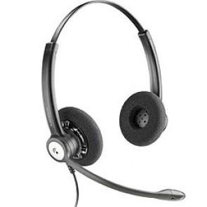 Plantronics HW121N Entera Professional Binaural NC Wideband Headset