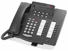 Teléfono Avaya Definity 6416D+ - Reacondicionado - Negro