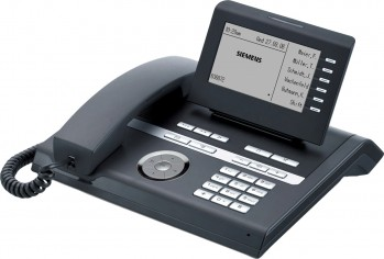 Siemens OpenStage 40T Full-duplex hands-free System Telephone - Black