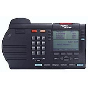 Nortel Meridian M3905 Teléfono Call Center - Negro