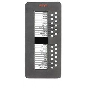 Módulo de botones de expenasión Avaya 9600 SBM24