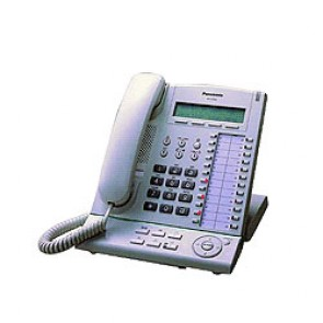 Sistema Telefónico Panasonic KXT7633 - Reacondicionado - Blanco