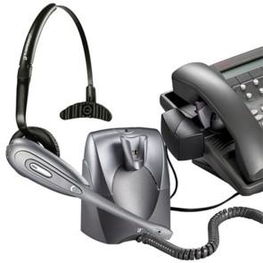 Plantronics CS60 DECT Auricular Inalámbrico y HL10 levantador - Reacondicionado