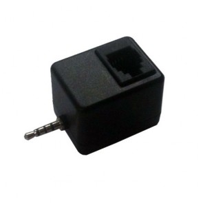 Plantronics Polycom 2.5mm-RJ11 socket EHS Adapter for SoundPoint IP300 Series