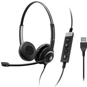 Sennheiser CIRCLE SC260 USB II Auriculares Duo con conexión USB