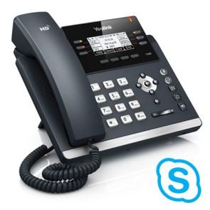 Yealink SIP-T42G SFB Gigabit IP Teléfono con 3 cuentas SIP