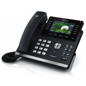 Yealink SIP-T46G Gigabit IP Teléfono con 6 cuentas SIP