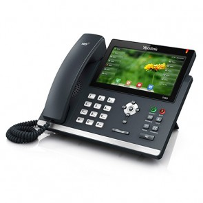 Yealink SIP-T48G Gigabit IP Teléfono con 6 cuentas SIP
