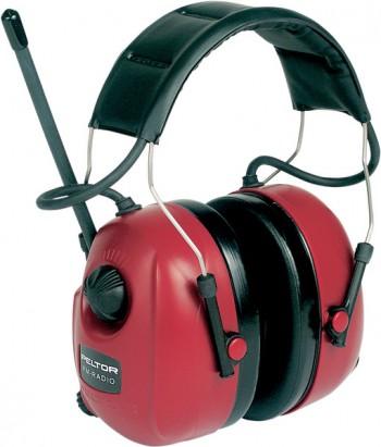 Casque Electronique Peltor WorkStyle FM Radio + Prise Audio