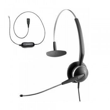 Jabra 2100 3 in 1 Mono Flex Boom Headset including Smart Lead - Refurbished