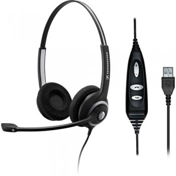 Sennheiser SC260 Binaural USB Microsoft Link Headset