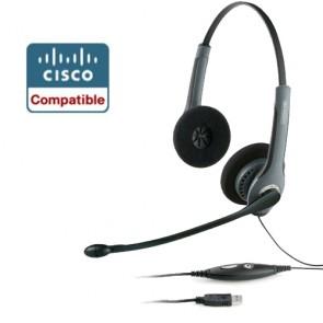 Jabra GN2000 Duo USB NC CIPC Headset