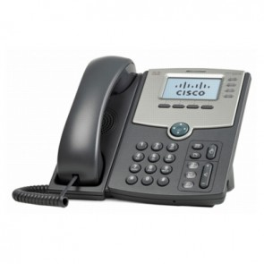 Cisco SPA514G 4-Leitungs-IP-Telefon mit LED-Anzeige