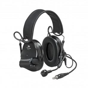 3M™ Peltor™ ComTac VI NIB Headset Black - MI input, Peltor Wired