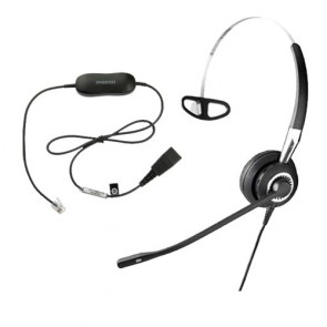 Jabra Biz 2400 Mono 3-in-1 NC Headset Including GN1200 Smart Cord