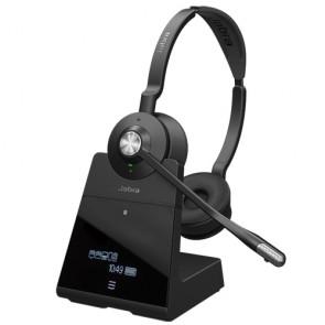 Jabra Engage 75 Stereo Casque sans fil professionnel, triple connexion