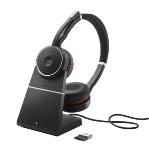 Jabra Evolve 75 UC Casque sans fil avec annulation active du bruit