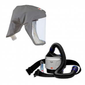 3M™ Versaflo™ TR-315+ Powered Air Starter Kit and S-333 Respirator Hood Bundle