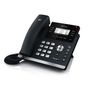 Yealink T42G Gigabit SIP Téléphone gigabit 3 comptes SIP