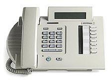 Nortel Option M3310 Systemtelefon - Runderneuert - Schwarz
