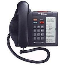 Nortel Option M3901 Entry Systemtelefon - Runderneuert - Grau