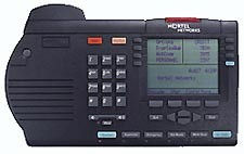 Nortel Option M3905 Call Center Systemtelefon - Runderneuert - Schwarz