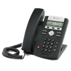 Polycom SoundPoint IP 320 VoIP Telefon ohne Netzteil - Erneuert